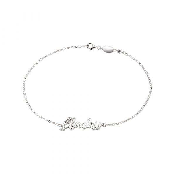 B Badass Bracelet Silver